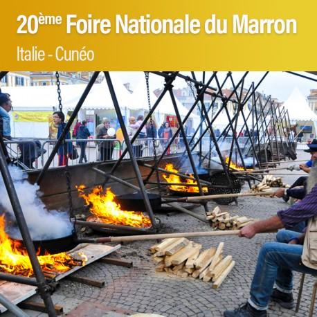 20ème Foire Nationale du Marron à Cuneo - Dimanche 21 Octobre 2018