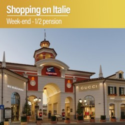 Week-end Shopping en Italie