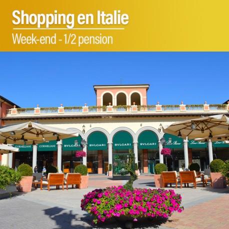Week-end Shopping en Italie
