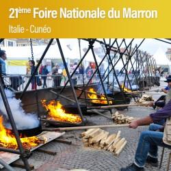 21ème Foire Nationale du Marron à Cuneo - Dimanche 20 Octobre 2019