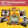 800ème Foire de Beaucroissant - Vendredi 13 Septembre 2019