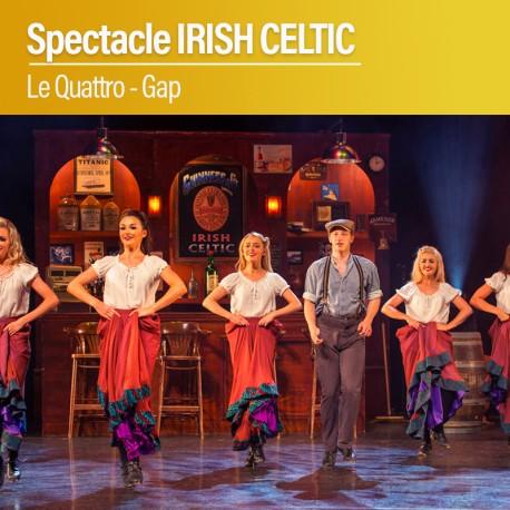 Spectacle IRISH CELTIC - Le Quattro - Gap - Vendredi 12 Novembre 2021