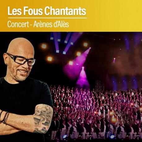 Concert Les Fous Chantants - Vendredi 31 Juillet 2020