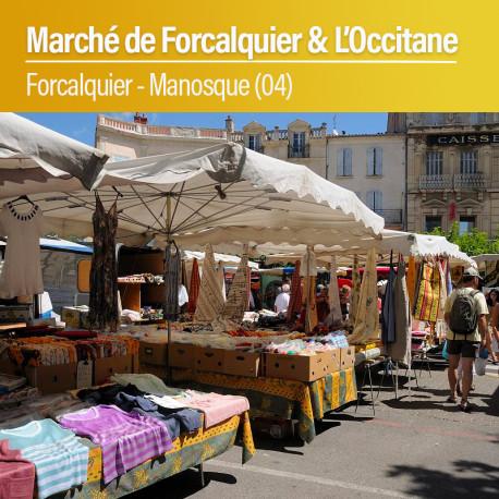 Marché de Forcalquier - Usine L'Occitane - Lundi 27 Juillet 2020